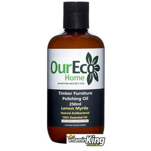 Timber Furniture Polishing Oil by OurEco Home