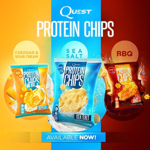 Quest Protein Chips Box (8 x 32g) by Quest Nutrition