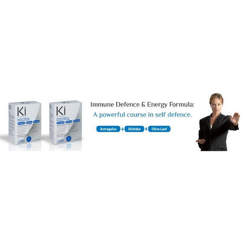 Image of Ki Immune Defence & Energy 60 Tablets by Martin & Pleasance