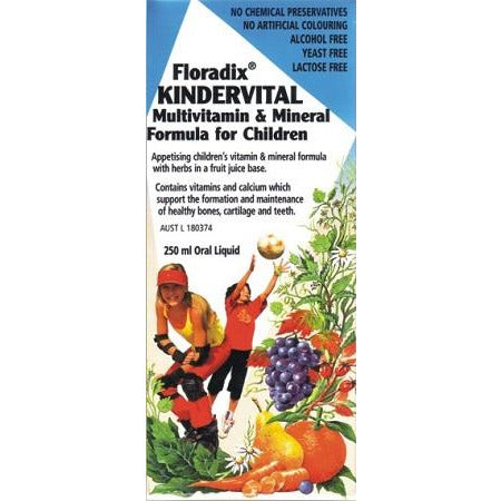 Kindervital 250ml by Floradix