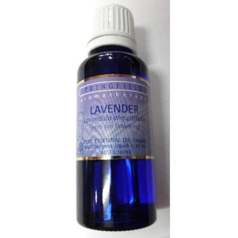 Lavender (Organic) Essential Oil 30ml by Springfields