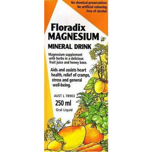Magnesium Mineral Drink 250ml by Floradix