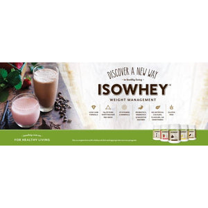 Isowhey (Iso Whey) Weight Management 1.28kg by IsoWhey
