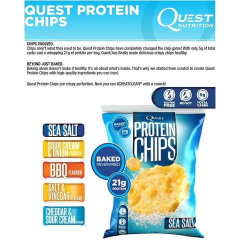 Image of Quest Protein Chips Box (8 x 32g) by Quest Nutrition