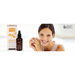 Pure Rosehip Oil Cold Pressed 50ml by Rosehip PLUS