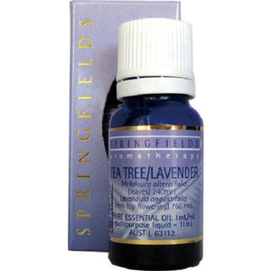 Tea Tree Lavender Organic Essential Oil by Springfields