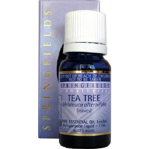 Tea Tree Organic Essential Oil by Springfields