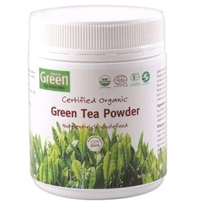 Certified Organic Green Tea Powder by Absolute Green