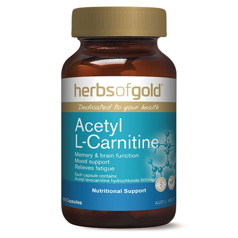 Image of Acetyl L-Carnitine by Herbs of Gold