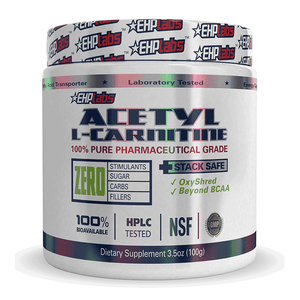 Acetyl L-Carnitine 100g by EHP Labs