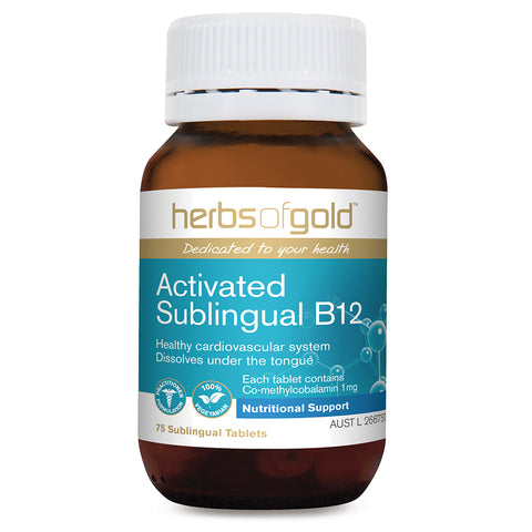 Image of Activated Sublingual B12 75