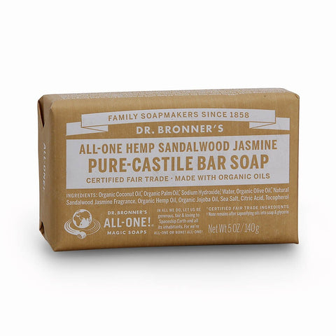 All One Hemp Pure Castille Soap Bars by Dr Bronners