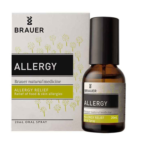 Allergy Oral Spray 20ml by Brauer Natural Medicines