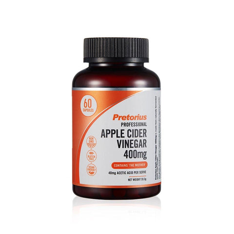 Pretorius Professional Apple Cider Vinegar 60 Capsules