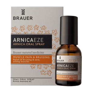 ArnicaEze Arnica Oral Spray by Brauer Natural Medicines