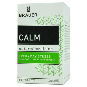 Calm (Nervatona) Tablets by Brauer Natural Medicines