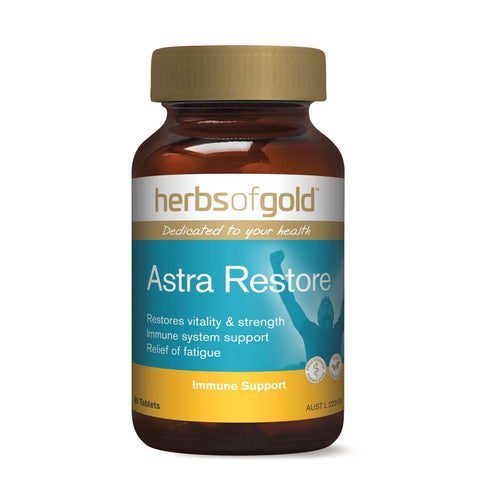 Image of Astra Restore 60 Tablets by Herbs of Gold