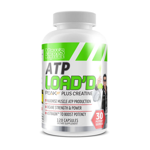 Maxs Lab Series ATP LOADD 120 Capsules