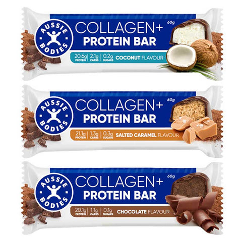 Collagen + Protein Bar by Aussie Bodies