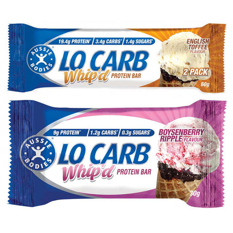 Lo Carb Whip'd Protein Bar by Aussie Bodies