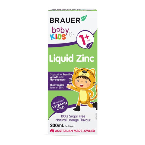 Brauer Baby & Kids Liquid Zinc 200ml