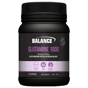 Glutamine 1000mg 150 Capsules by Balance