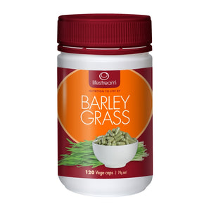 Barley Grass 120 Vegetarian Capsules by Lifestream