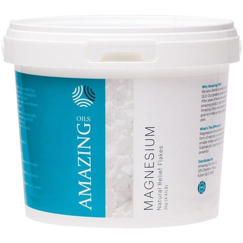 Amazing Oils Magnesium Bath Flakes 2kg