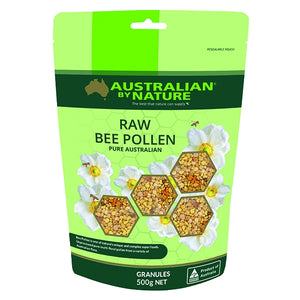 Raw Bee Pollen Granules 500g by Australian by Nature
