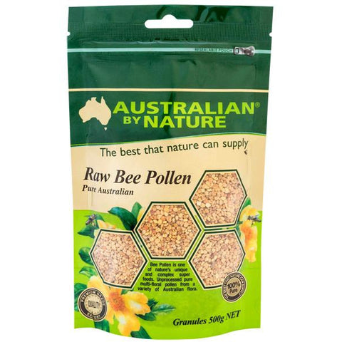 Image of Raw Bee Pollen Granules 500g by Australian by Nature
