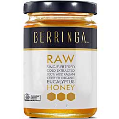 Raw Organic Eucalyptus Honey 1kg by Berringa *HIGH DEMAND*