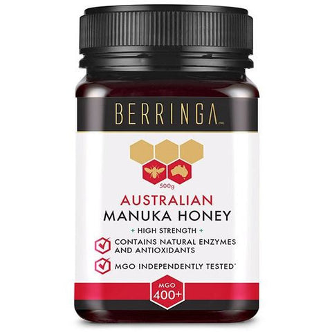 Super Manuka Honey MGO 400+ 500g by Berringa *HIGH DEMAND*