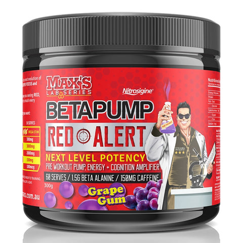 Image of Beta Pump Red Alert 300g by Maxs Lab Series