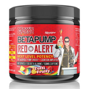 Beta Pump Red Alert 300g by Maxs Lab Series