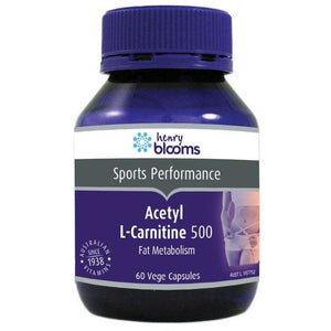 Acetyl L-Carnitine 500mg 60 Capsules by Blooms
