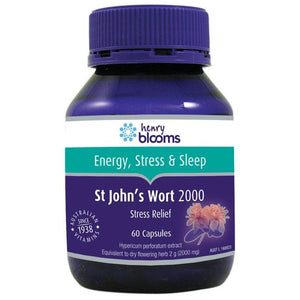 St John's Wort 2000mg Capsules by Blooms