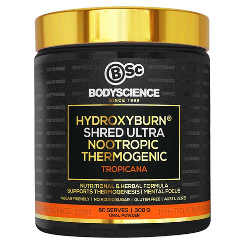 Image of Hydroxyburn Shred Ultra by Body Science BSc