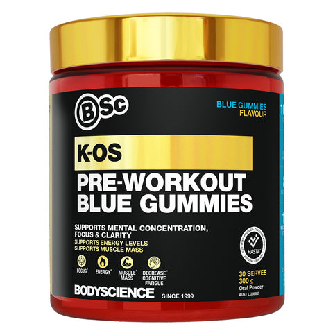 K-OS Pre Workout by Body Science BSc