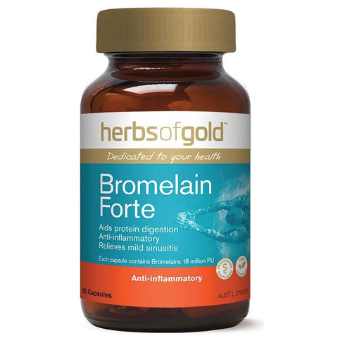 Bromelain Forte by Herbs of Gold