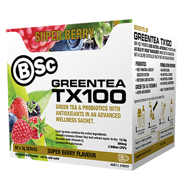 Green Tea TX100 Sachets by Body Science