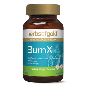BurnX 60 Tablets Herbs of Gold