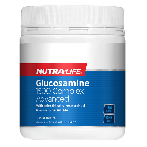 Glucosamine 1500 Complex Advanced by Nutra Life