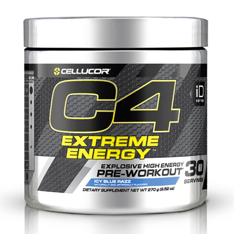 Image of C4 Extreme Energy 30 Serves Blue Razz by Cellucor