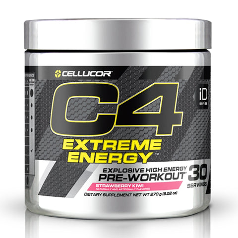 Image of C4 Extreme Energy 30 Serves Strawberry Kiwi by Cellucor
