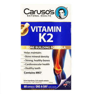 Vitamin K2 by Carusos Natural Health