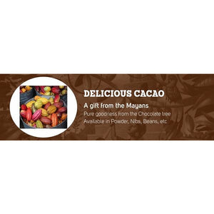 Cacao Nibs (Organic) 500g by Power Super Foods