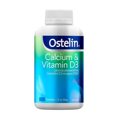 Ostelin Calcium & Vitamin D3 Tablets