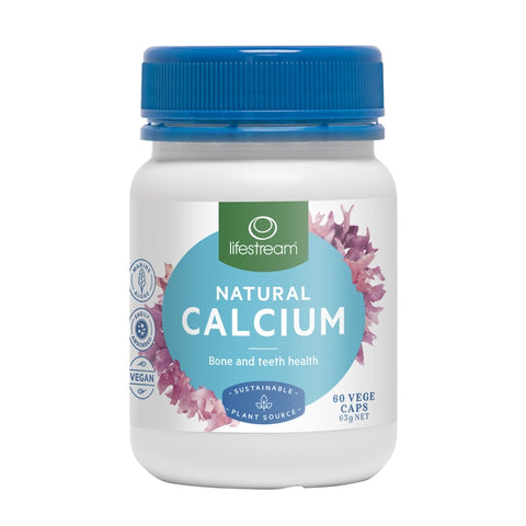 Image of Natural Calcium 60 Capsules by Lifestream