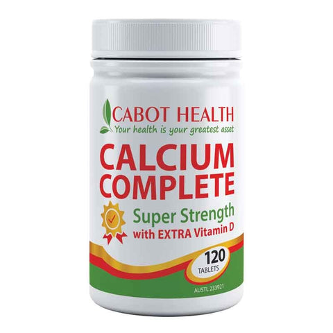 Calcium Complete 120 Tablets by Cabot Health