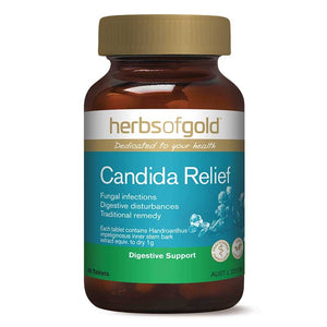 Candida Relief (Pau dArco)Tablets by Herbs of Gold